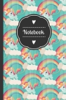 Notebook: 150 pages unicorn notebook with blank pages for scribbling, drawing, writing, sketches and painting. Format 6x9! Cover Image