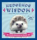 Hedgehog Wisdom: Little Reasons to Smile Cover Image
