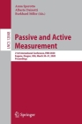 Passive and Active Measurement: 21st International Conference, Pam 2020, Eugene, Oregon, Usa, March 30-31, 2020, Proceedings Cover Image