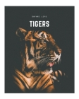 Tigers: A Decorative Book │ Perfect for Stacking on Coffee Tables & Bookshelves │ Customized Interior Design & Hom Cover Image