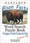 Circle It, Bison Facts, Pocket Size, Word Search, Puzzle Book Cover Image