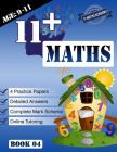11+ Maths Practice Papers Book 4 (Age 9-11) Cover Image