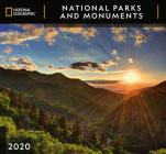 Cal 2020-National Geographic National Parks & Monuments Wall Cover Image