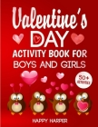 Valentine's Day Activity Book Cover Image