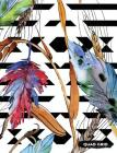 Quad Grid: Feathers Composition Notebook Graph Ruled Paper, 4x4 Squared for Math & Science Graphing Cover Image