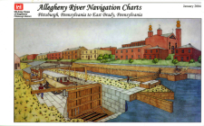 Allegheny River Navigation Charts, Pittsburgh, Pennsylvania to East Brady, Pennsylvania (Pittsburgh District) Cover Image