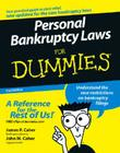 Personal Bankruptcy Laws for Dummies Cover Image