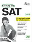 Cracking the SAT with DVD, 2013 Edition Cover Image
