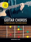Guitar Chords: A Fretboard Sticker Book Cover Image