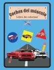 Coches del músculo Libro de colorear: Libro de colorear de Muscle Cars con especificaciones para niños o adultos Cover Image
