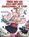 There Was an Old Lady Who Swallowed a Cow!: A Board Book Cover Image