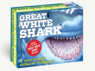 The Great White Shark 500-Piece Jigsaw Puzzle & Book: A 500-Piece Family Jigsaw Puzzle Featuring The Shark Handbook Cover Image