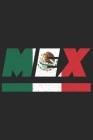 Mex: Mexiko Tagesplaner mit 120 Seiten in weiß. Organizer auch als Terminkalender, Kalender oder Planer mit der mexikanisch Cover Image