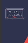 Mileage Log Book Plus: A Premium Personal And Business Mileage Tracker For All Vehicles. Cover Image