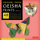 Origami Paper - Geisha Prints - Large 8 1/4 - 48 Sheets: Tuttle Origami Paper: High-Quality Origami Sheets Printed with 8 Different Designs: Instructi Cover Image