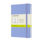 Moleskine Classic Notebook, Pocket, Plain, Hydrangea Blue, Hard Cover (3.5 x 5.5) Cover Image