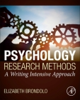 Psychology Research Methods: A Writing Intensive Approach Cover Image