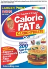 CalorieKing 2022 Larger Print Calorie, Fat & Carbohydrate Counter Cover Image