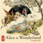 British Library - Alice in Wonderland Mini Wall calendar 2021 (Art Calendar) Cover Image