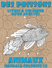 Livres à colorier pour adultes - Mandala Coloriez le - Animaux - Des poissons Cover Image