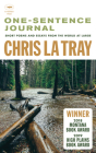 One-Sentence Journal: Short poems and essays from the world at large Cover Image