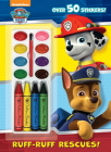 Ruff-Ruff Rescues! (Paw Patrol) Cover Image