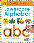 Wipe Clean Workbook: Lowercase Alphabet (enclosed spiral binding): Ages 3-6; with pen & flash cards (Wipe Clean Learning Books) Cover Image