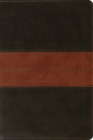 ESV Personal Reference Bible (Trutone, Deep Brown/Tan, Trail Design) Cover Image