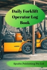Daily Forklift Operator Log Book Cover Image