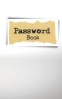 Password Book: Internet Password Organizer Cover Image