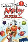 Marley: The Dog Who Ate My Homework (I Can Read Marley - Level 2) Cover Image