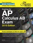 Cracking the AP Calculus AB Exam Cover Image
