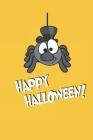 Top Hat Spider Halloween Journal Cover Image