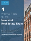 4 Practice Tests for the New York Real Estate Exam: 300 Practice Questions with Detailed Explanations Cover Image