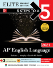 5 Steps to a 5: AP English Language 2021 Elite Student Edition Cover Image