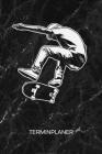 Terminplaner: Skater Kalender Skateboarding Terminkalender - Heelflip Wochenplaner Skateboarder Wochenplanung Rollbrett Taschenkalen Cover Image