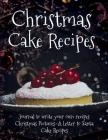 Christmas Cake Recipes Cover Image