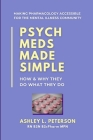 Psych Meds Made Simple: How & Why They Do What They Do Cover Image
