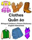 English-Vietnamese Clothes Bilingual Children's Picture Dictionary Cover Image