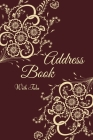 Address Book with Tabs: Address Book and Birthday Calendar (Small Tabbed Address Book). A-Z Alphabetical Tabs. Cover Image