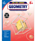 Geometry, Common Core Edition, Grades 8+: Essential Practice for Advanced Math Topics (100+) Cover Image