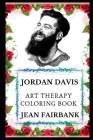 Jordan Davis Art Therapy Coloring Book Cover Image