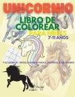 Unicornio Libro para colorear para niñas 7-11 años: Libro de actividades y sudokus para colorear con unicornios para niñas / 31 lindas y únicas página Cover Image