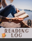 Reading Log: Reader's Journal 110 pages cream paper large (8.5x11) Cover Image