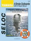 Yamaha 4-Stroke Engines 2005-10 Repair Manual: 2.5 - 350 HP, 1-4 Cylinder, V6 & V8 Models Cover Image