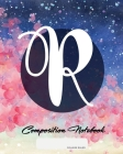 Composition Notebook: College Ruled - Initial R - Personalized Back to School Composition Book for Teachers, Students, Kids and Teens with M Cover Image