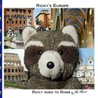Ricky goes to Rome: Ricky goes to Rome, Italy, the Colosseum, the Forum, the Spanish Steps, Trevi Fountain, Piazza Navona, and Vatican Cit Cover Image