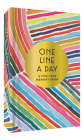 Rainbow One Line a Day: A Five-Year Memory Book Cover Image
