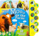 Discovery Moo on the Farm!: 10 Noisy Farmyard Sounds (Discovery 10 Button) Cover Image