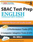 SBAC Test Prep: Grade 8 English Language Arts Literacy (ELA) Common Core Practice Book and Full-length Online Assessments: Smarter Bal Cover Image